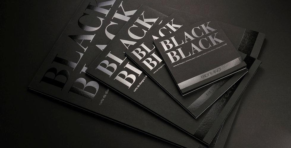 Fabriano Black Black Pad 300gsm
