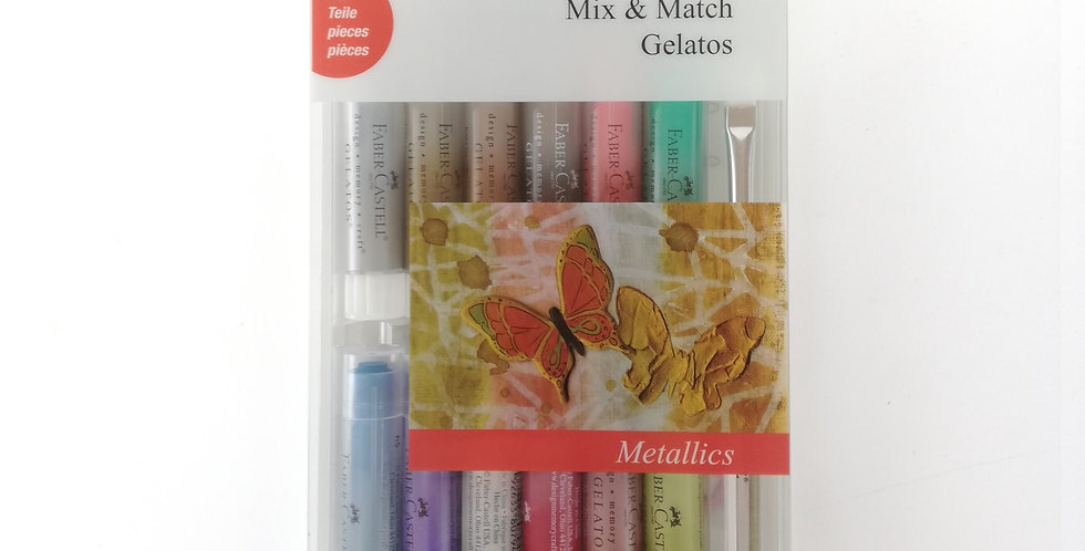 Mix & Match Gelatos Metallics 15pc