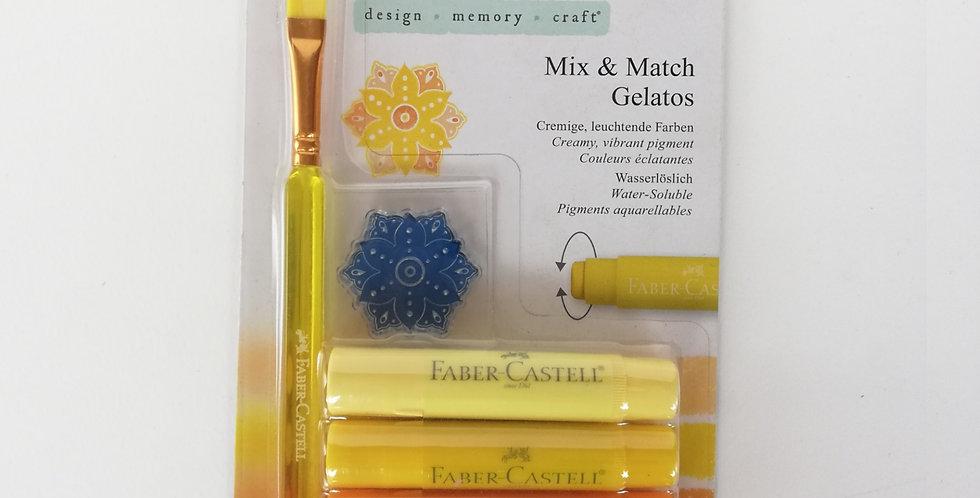 Mix & Match Gelatos Yellow 6pc