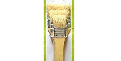 Prime Art Varnish & Base Paint Brush Set 3 Pcs