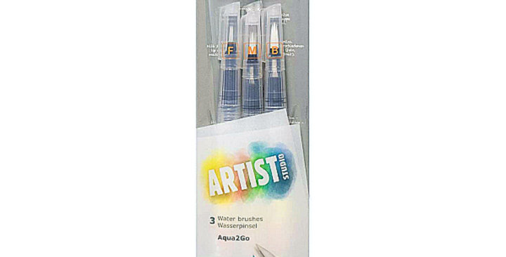 Cretacolor Aqua 2 Go Water Brush Set