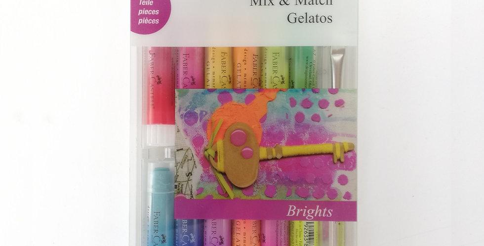Mix & Match Gelatos Brights 15pc