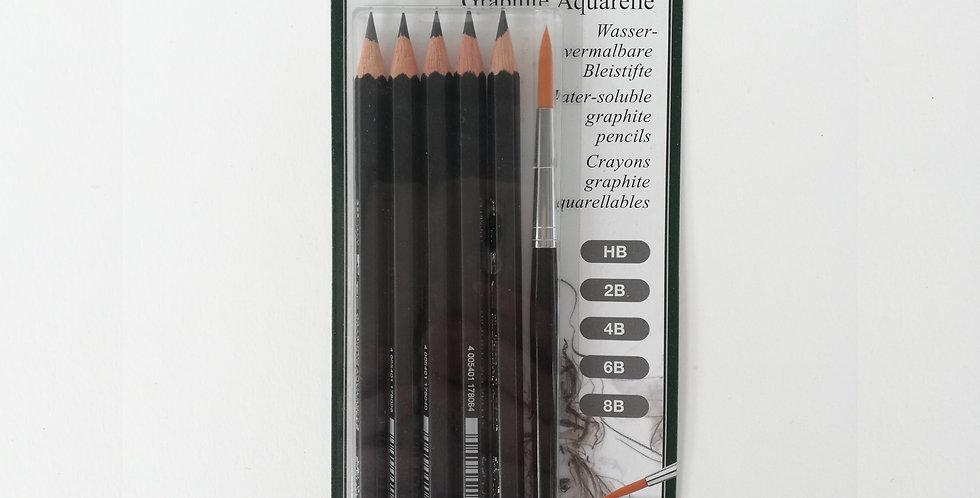 Watersoluble pencil Graphite Aquarelle