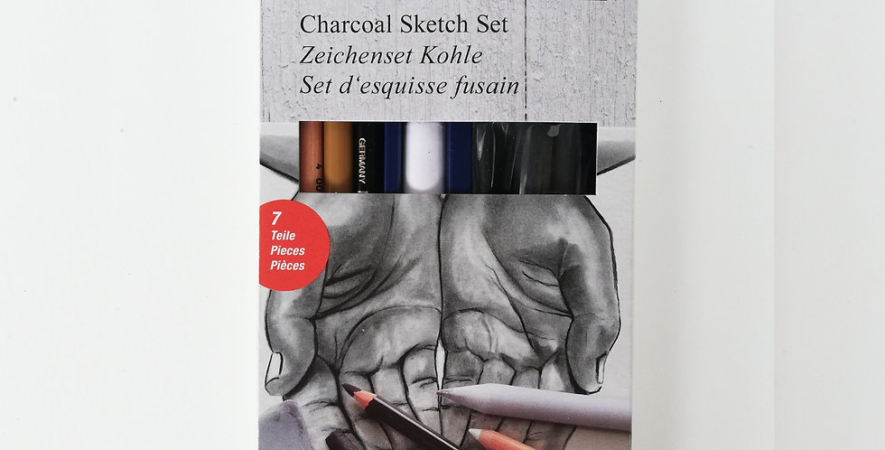 Drawing Set Charcoal