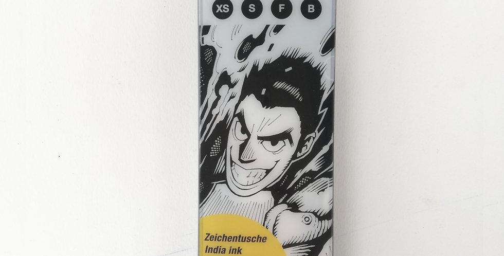 PITT Artist Pens Manga Black Set 4pc