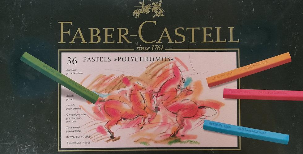 Pastel crayon Polychromos box of 36