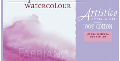 Fabriano Artistico Watercolour Pad 300gsm 20 sheets