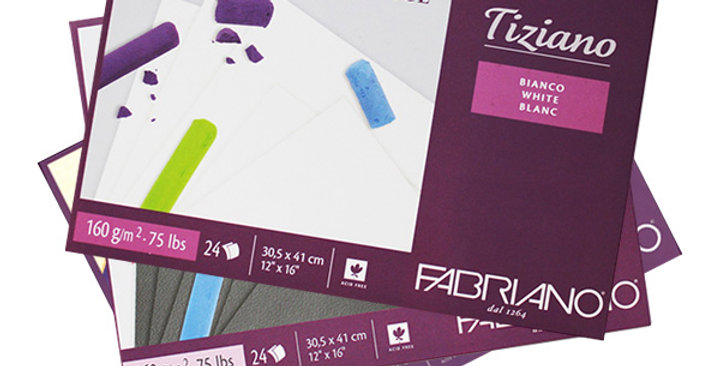 Fabriano Tiziano Pastel Pads 160gsm