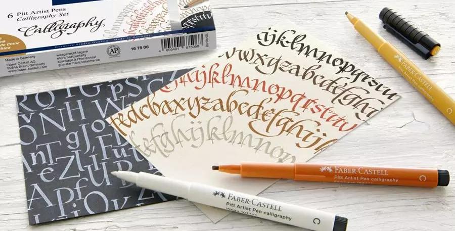 Pitt Artist Pen india ink pen Calligraphy sets