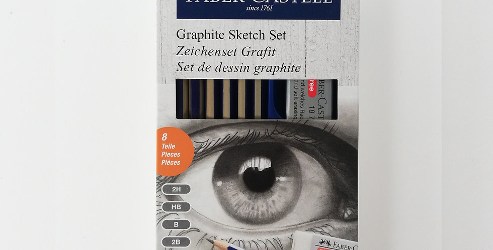 Drawing Set Goldfaber Graphite
