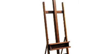 Prime Art Wooden H-Frame Beach Wood Easel
