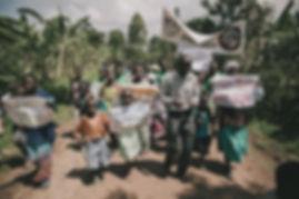 A public health march in Eastern Uganda