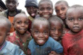 children during a sanitation workshop
