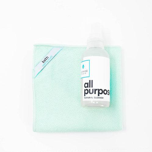 Mini Bath Cleaning Kit (4oz)