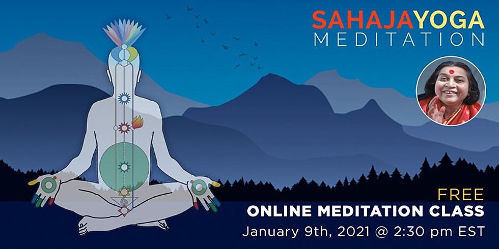 Sahaja Yoga Meditation New Year Workshop (Online Event)