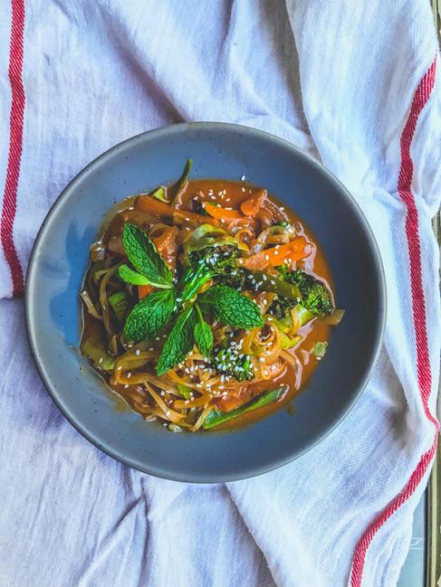 Spicy Bangcock Noodles