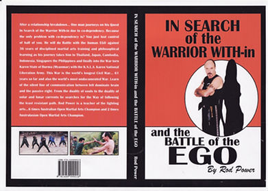 Rod Power 10th dan author In Search of the Warrior Within Martial Arts Perth