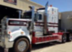 Truck pin-line Scrolls rodpowersigns
