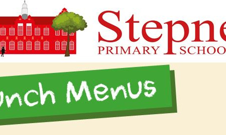 New Menus for After Half Term