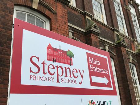 New Stepney Signs