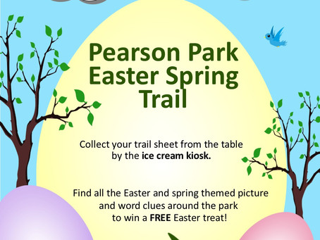 Pearson Park Easter Activities