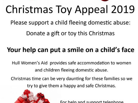 Christmas Toy Appeal - Supporting Hull Women's Aid