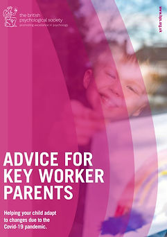 Advice for keyworker parents - helping y