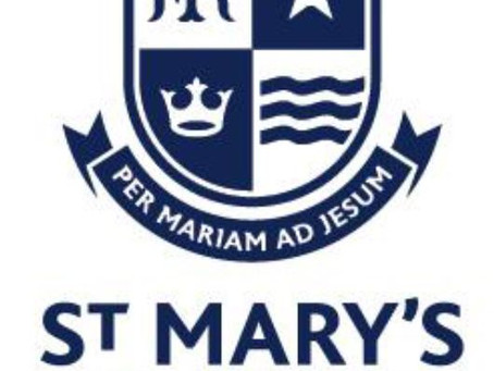 Transition Letter from St. Mary's College to Year 6