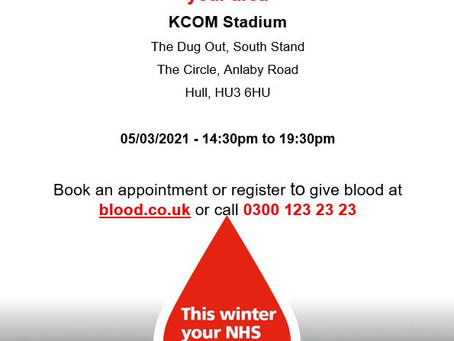 Blood Donor Appeal