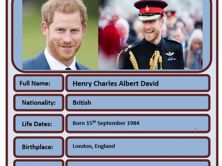 Famous Brit of the Week #69 - Prince Harry