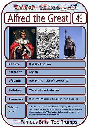 British Values Top Trumps Famous Brits (