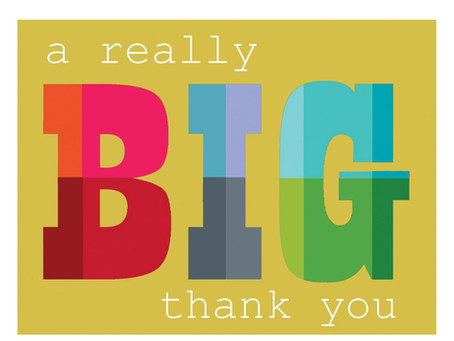 A Big Thank You to Parents, Pupils & Staff