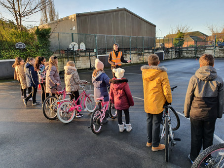Year 6 Complete the Bikeability Training