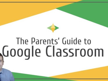 Parents' Guides For Using Google Classroom