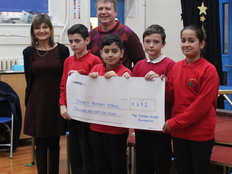 Generous Donation from the Stephen Hughes Foundation