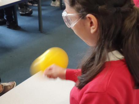 Labrascals Wow Pupils with State of Matter