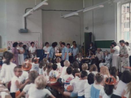 Mrs Denholm & the School Centenary