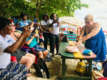 Hull Teachers in Freetown for the 40th Anniversary Week