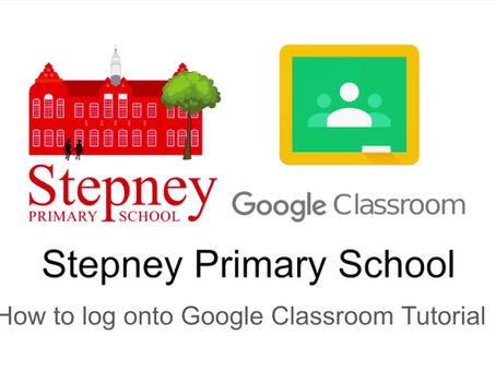 New Google Classroom Tutorial