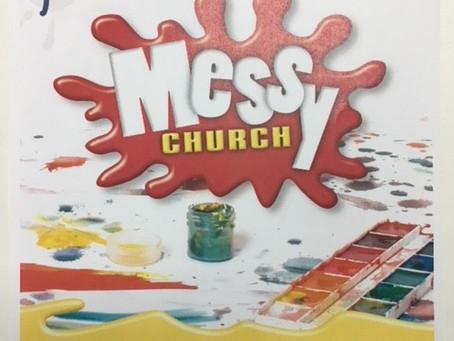 Messy Church Art Activities