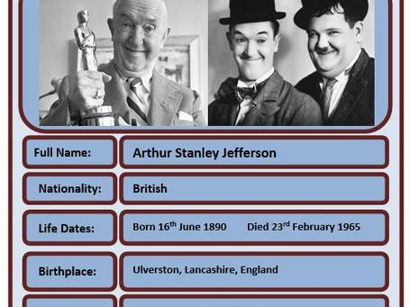 Famous Brit of the Week #68 - Stan Laurel