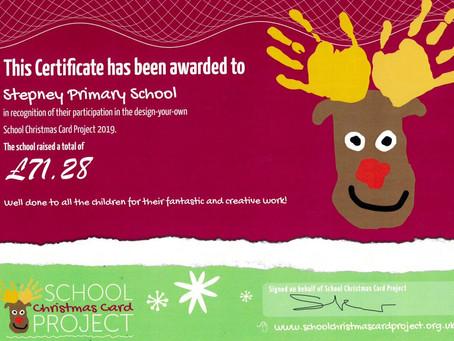 School Christmas Card Project