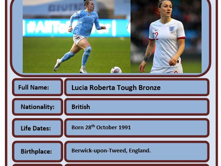Famous Brit of the Week #77 - Lucy Bronze