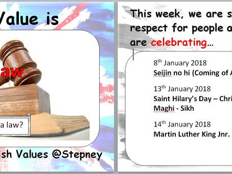 This week's Ethos theme