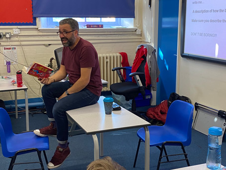 Author Phil Earle Visits Stepney