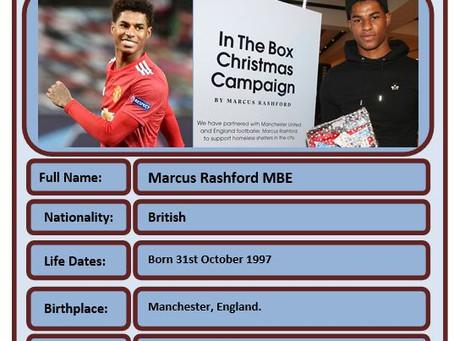 Famous Brit of the Week #78 - Marcus Rashford
