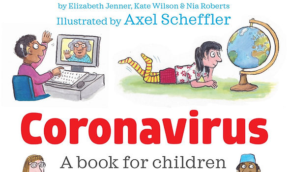 A book for children about Coronavirus.jp