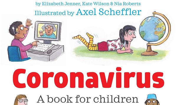 A book for children about Coronavirus.jp