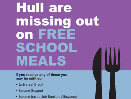 Free School Meals Information from Hull City Council