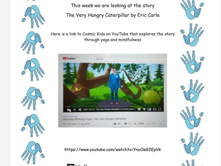 Activity Ideas for EYFS & Year 1 pupils 29th June
